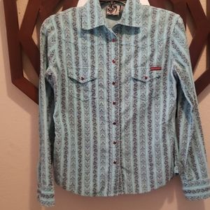 NWOT Western Style Snap Up